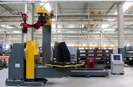 器人焊接生产线